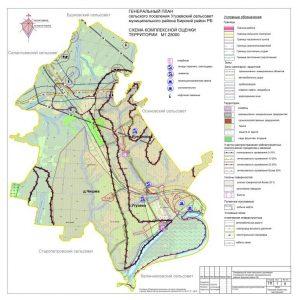 1 Схема компл оценки территории