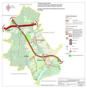 4 Схема транспортной инфраструктуры